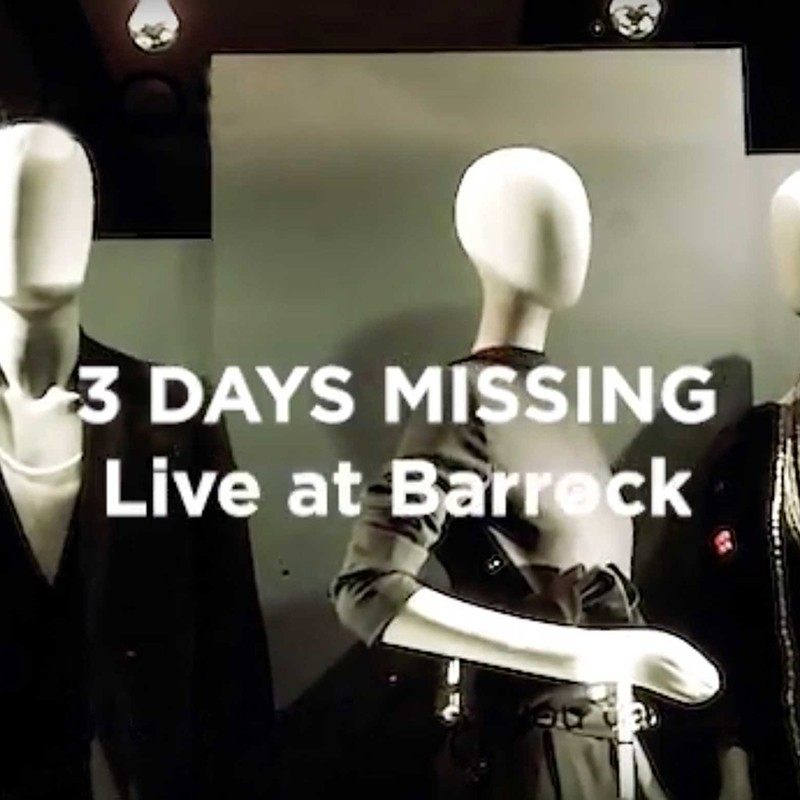 3 Days Missing - Live at Barrock